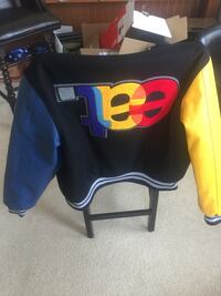 EAT letterman jacket 34 mi
