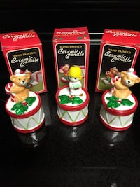 3 NEW Holiday Candle decoration
