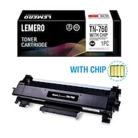 Compatible Brother  TN760 Toner Cartridges - WITH CHIP - high capacity black Toronto