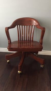 Bombay company wooden chair Waterloo, N2J 1E2