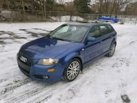 Audi  A3  2007 2.0T Manual Côte Saint-Luc, H4X