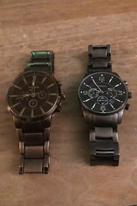 2x fossil watches