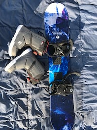 Youth snowboard package 2 Oklahoma City, 73102