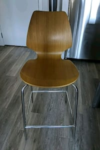 3 West Elm counter stools in great condition.  Baltimore, 21230