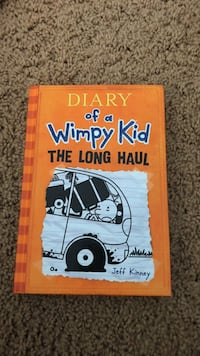 Diary of a wimpy kid the long haul by jeff kinney book Los Angeles, 90057
