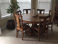 Oak Table with 6 chairs Lexington, 29072