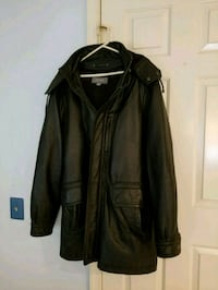 Men's leather coat Woodbridge, 22192