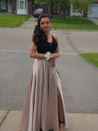 Gold and black prom dress Ajax, L1S 3T9