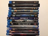 3D Movies / 3D Blu-ray North Vancouver, V7L
