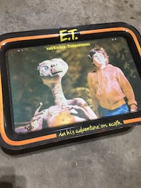 ET TV Tray Extra-Terrestial Movie Collectible Columbia, 17512