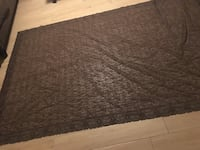 Brown Lace Rectangular Table Cloth