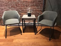 Two Modern Accent Arm Chairs San Francisco, 94105