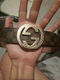 Gucci/Louis vuitton belt  Edmonton, T6K 3C9