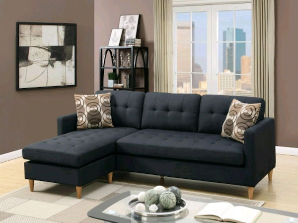 Groovy New Black Sectional Sofa Ibusinesslaw Wood Chair Design Ideas Ibusinesslaworg