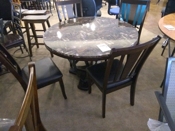 Used Around Dining Table With 4 Chairs Sale For In Phoenix