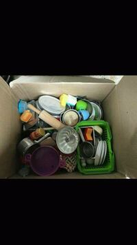 Box of Play Food for Play Kitchen