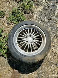 Privat 17in wheels with tires off 350z Petaluma, 94954