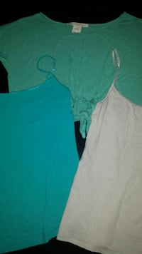 3 Assorted Small Tops