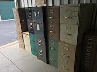 2-Dr File cabinets no keys used  Clover, 29710