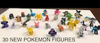 30 New Pokemon Small Toy Figures (Pikachu, Mega Charizrd Y, Charmeleon & much more!) $15 ALL FIRM Visalia, 93292