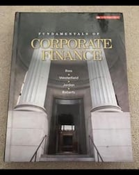 FUNDAMENTALS OF CORPORATE FINANCE TEXTBOOK  St Catharines, L2M 7E2