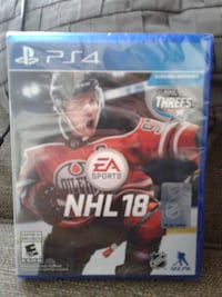 EA Sports NHL 17 PS4 game case