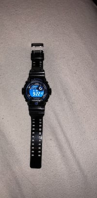 Round black casio g-shock digital watch North Providence, 02911