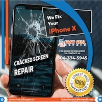 Get fix your iPhoneX LCD Screen in 40 minutes Vancouver