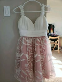 Cream and pink tulle dress Yelm, 98597