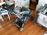 Rarely used baby trend double seat stroller Just @$20 Waltham, 02452