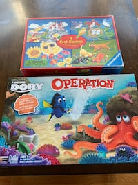Board Games ages 3+