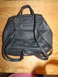 Black leather backpack purse/crossbody plus extra crossbody purse Vancouver