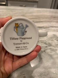 *NEW* Tiffany Playground Porcelain Cup CHICAGO