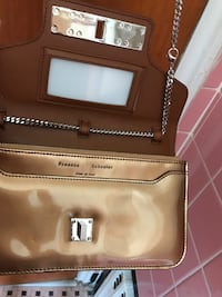 brand New $1100 but not even possible to find. Golden Metallic Chain wallet & some space too Fairview, 07022