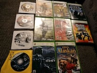 Xbox360 live 12 games 20.00 firm  West Valley City