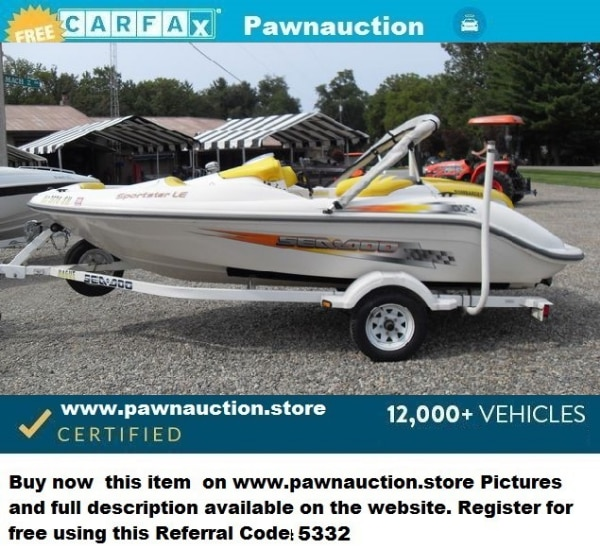 Used 2002 Sea Doo Sportster LE For Sale In ORLANDO