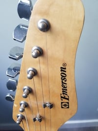 electric guitar (Emerson)  with stand