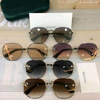 black framed Ray-Ban aviator sunglasses Toronto