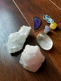 Crystals- quartz, rose quartz etc Centreville, 20121