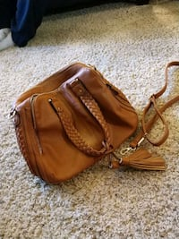 Brown Leather Purse Parker, 80138