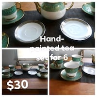Handpainted tea set  Louisville, 40203