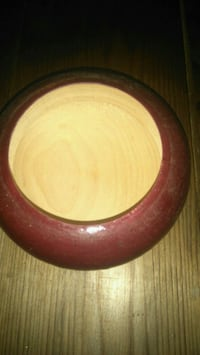 Hand turned wooden bowl mexico Abbotsford, V2S 7A4