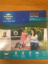 Pet safe big cat door