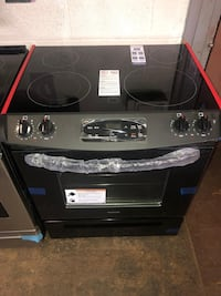 Slide In electric stove 30in brand new 6 months warranty Owings Mills