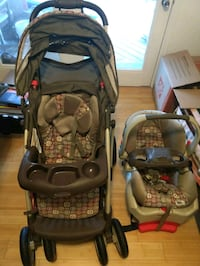 Used Graco stroller and car seat Herndon, 20170