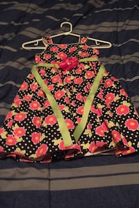 Flower dress size 5