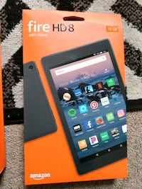 Fire hd8 tablet