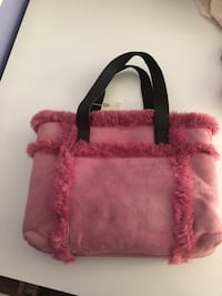 UGG fur never been used purse