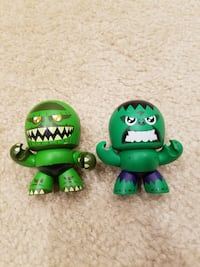Marvel Mini Hulk and Abomination mighty Muggs Springfield