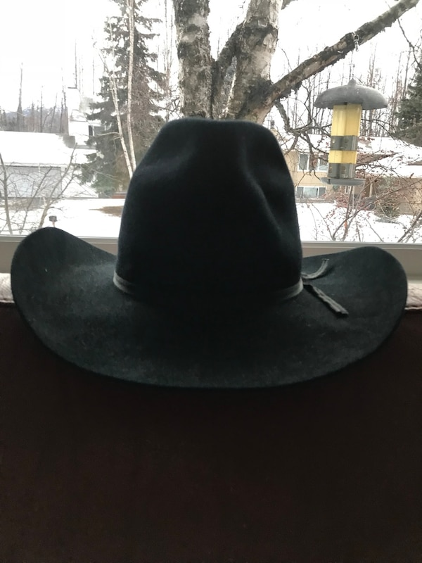 f48d26d418032 Used Black Cowboy Hat for sale in Anchorage - letgo